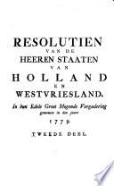 Resolutien van Holland