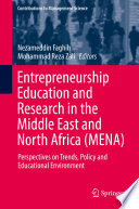 Entrepreneurship Education and Research in the Middle East and North Africa  MENA