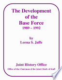 The Development Of The Base Force 1989 1992