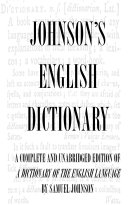 download ebook dictionary of the english language (complete and unabridged) pdf epub
