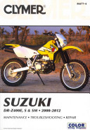 Suzuki Dr Z400e S Sm Manual 2000 2012