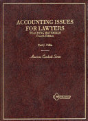 Accounting issues for lawyers