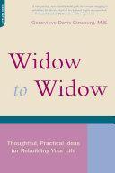 Widow To Widow