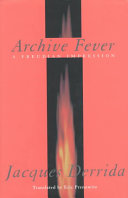 Archive Fever An Extended Meditation On Remembrance Religion Time
