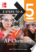 5 Steps to a 5 AP Chemistry  2010 2011 Edition