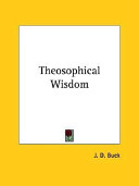 Theosophical Wisdom