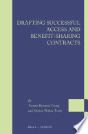Drafting Successful Access and Benefit sharing Contracts