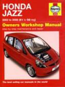 Honda Jazz 2002 to 2008  51 to 08 Reg