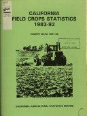 California Field Crops Statistics