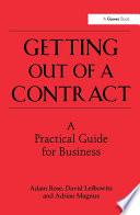 Getting Out Of A Contract A Practical Guide For Business