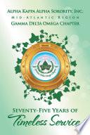 Alpha Kappa Alpha Sorority Inc Gamma Delta Omega Chapter
