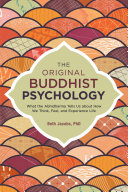 download ebook the original buddhist psychology pdf epub