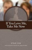 If You Love Me Take Me Now Book PDF