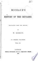 Michaud s history of the crusades