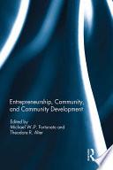 Entrepreneurship  Community  and Community Development