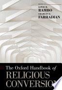 The Oxford Handbook Of Religious Conversion book