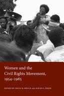 download ebook women and the civil rights movement, 1954-1965 pdf epub