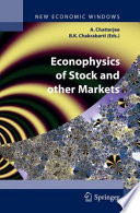 Econophysics of Stock and other Markets