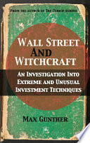 Ebook Wall Street and Witchcraft Epub Max Gunther Apps Read Mobile