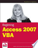 Beginning Access 2007 VBA