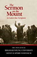 The Sermon on the Mount in Latter day Scripture