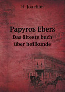 Papyros Ebers
