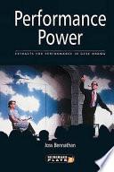 Performance Power