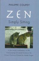 Zen, Simply Sitting