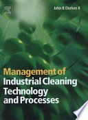 Management of Industrial Cleaning Technology and Processes Book PDF