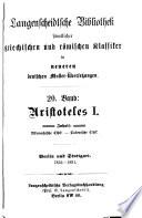 Aristoteles  Nikomachische ethik