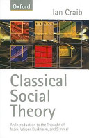 Classical Social Theory