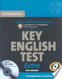 Cambridge Key English Test Extra Student s Book with Answers and CD ROM