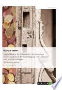 Möglichkeiten der finanziellen Altersvorsorge unter besonderer Berücksichtigung von Leibrente und reverse mortgage
