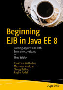 download ebook beginning ejb in java ee 8 pdf epub