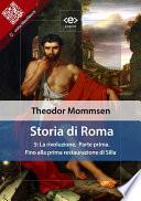 Storia di Roma  Vol  5  La rivoluzione  Parte prima  Fino alla prima restaurazione di Silla