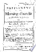 A Supplement To The Morning Exercise At Cripple Gate