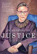 Book In Defense of Justice