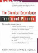 The chemical dependence treatment planner