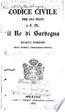 Codice civile per gli stati di S M  il re di Sardegna