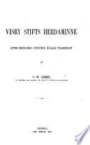 Visby Stifts Herdaminue, efter mestadels otryckta källor utarbetadt