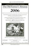 The Old Farmer s Almanac 2006 Book PDF