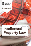 Intellectual Property Lawcards 2012 2013