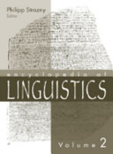 Encyclopedia of Linguistics  M Z