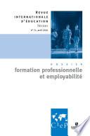 Formation professionnelle et employabilit     Revue internationale d   ducation s  vres 71
