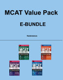 McGraw Hill Education MCAT Value Pack