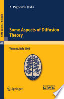 illustration Some Aspects of Diffusion Theory