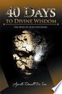 40 Days to Divine Wisdom