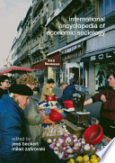 International Encyclopedia Of Economic Sociology : society, this encyclopedia focuses on the impact...