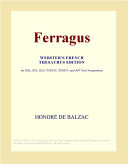 Ferragus  Webster s French Thesaurus Edition
