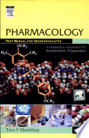 Pharmacology  Prep Manual for Undergraduates